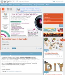 GoGoFirenze Comunicare con le immagini
